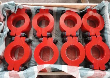 Chiny Red Wellhead Fits No.5 Hub Clamp Connector for Safety Connection fabryka